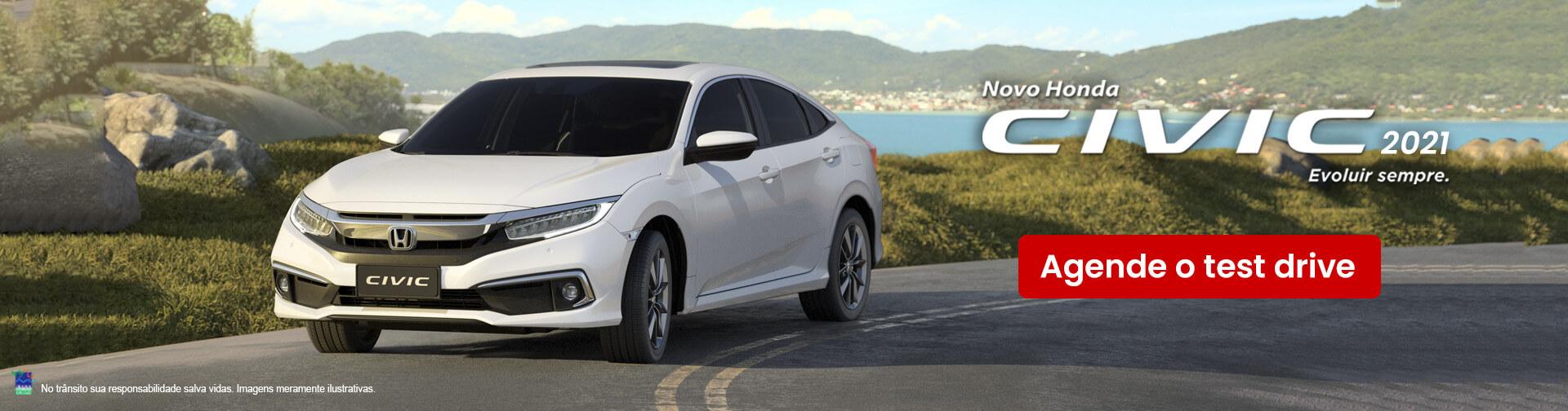 Novo Honda Civic 2020